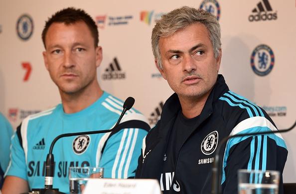 John Terry-Jose Mourinho
