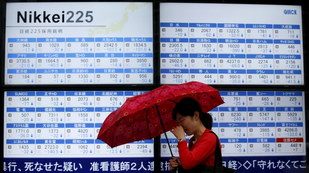 Asian markets: Japan's Nikkei slides further amid concerns over the European banking sector