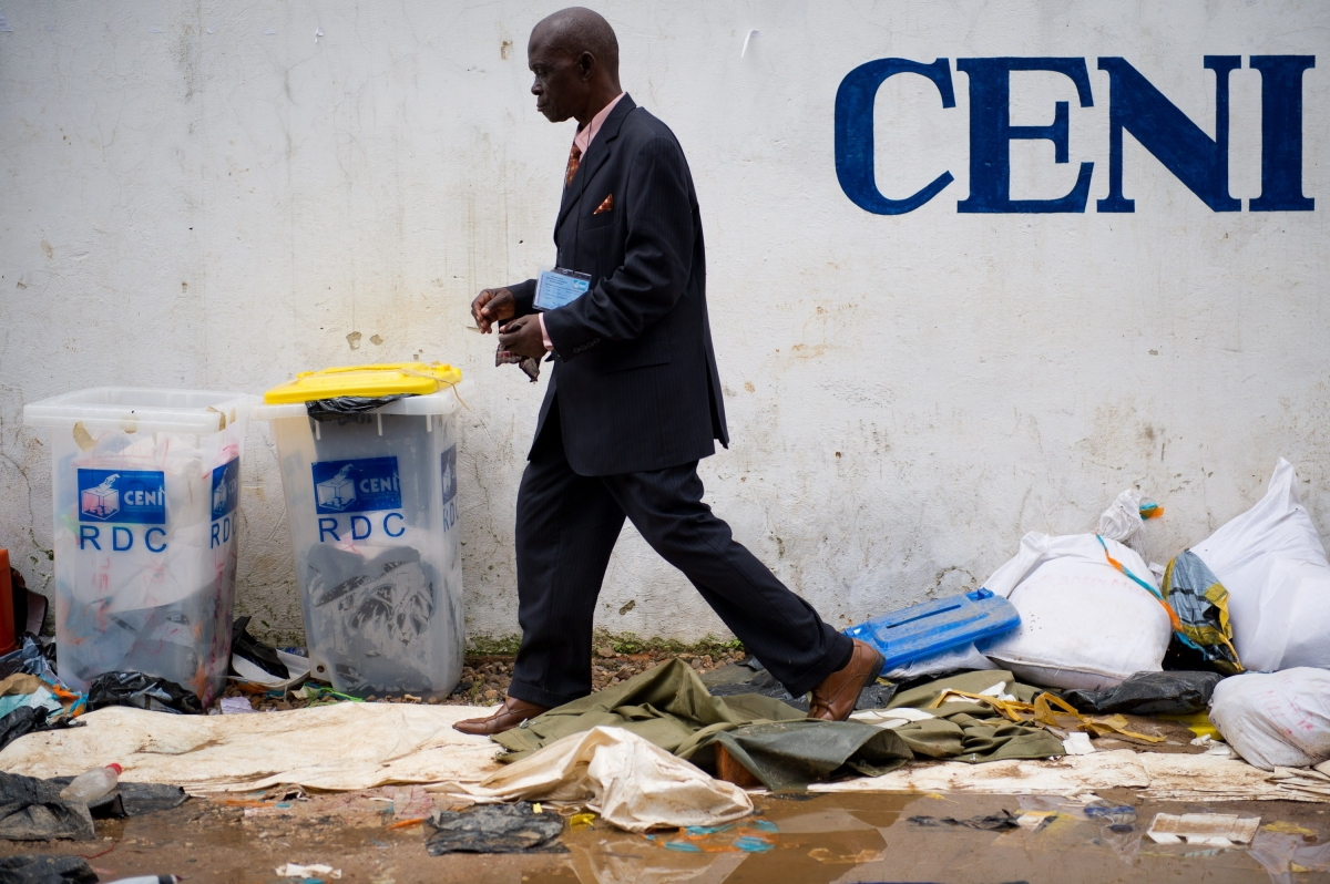 DRC 2016 elections CENI