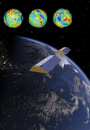 Nasa Grace satellites