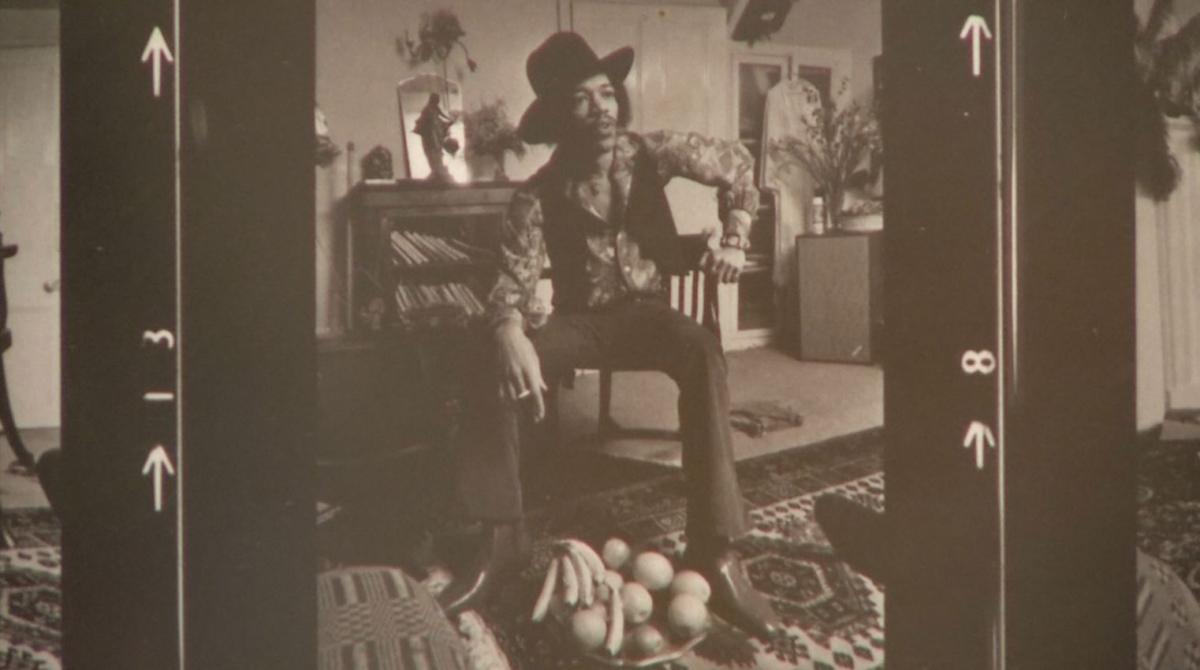 Iconic Jimmy Hendrix picture