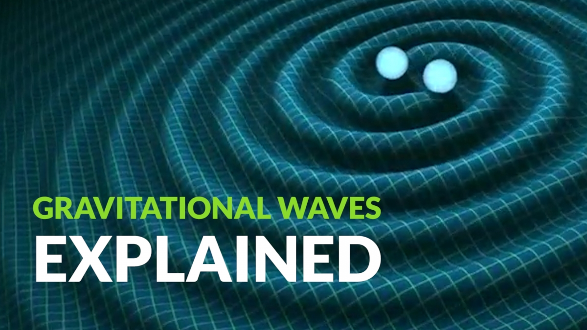 Gravitational waves explained why the detection of for Fabric of space time explained