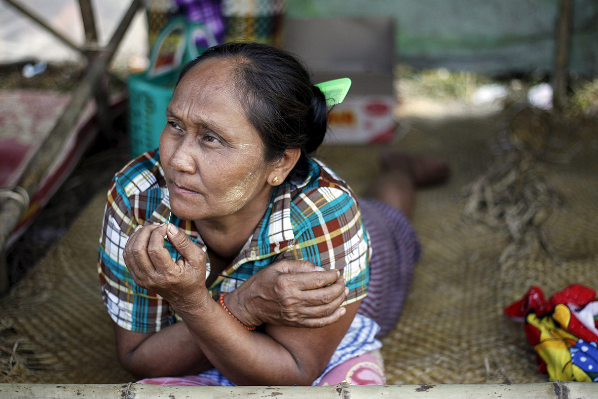 Myanmar Thousands Are Left Homeless As Military Destroys