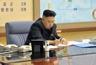 North Korean leader Kim Jong-un. (Reuters / KCNA)