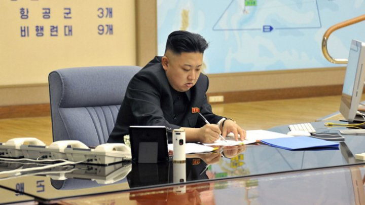 North Korean leader Kim Jong-un. (Reuters / KCNA)