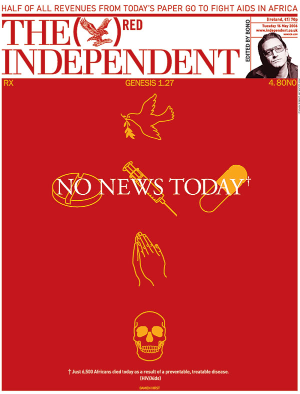 The independent damien hirst