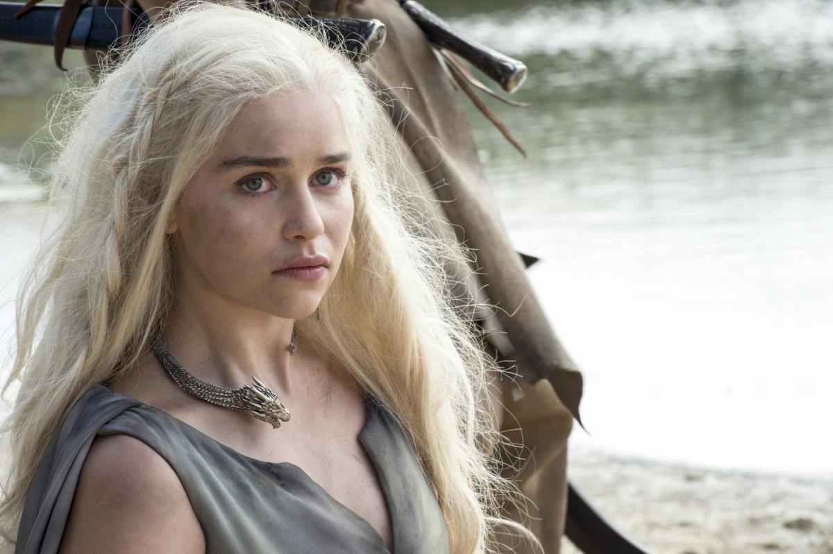 Daenerys played by Emily Clarke