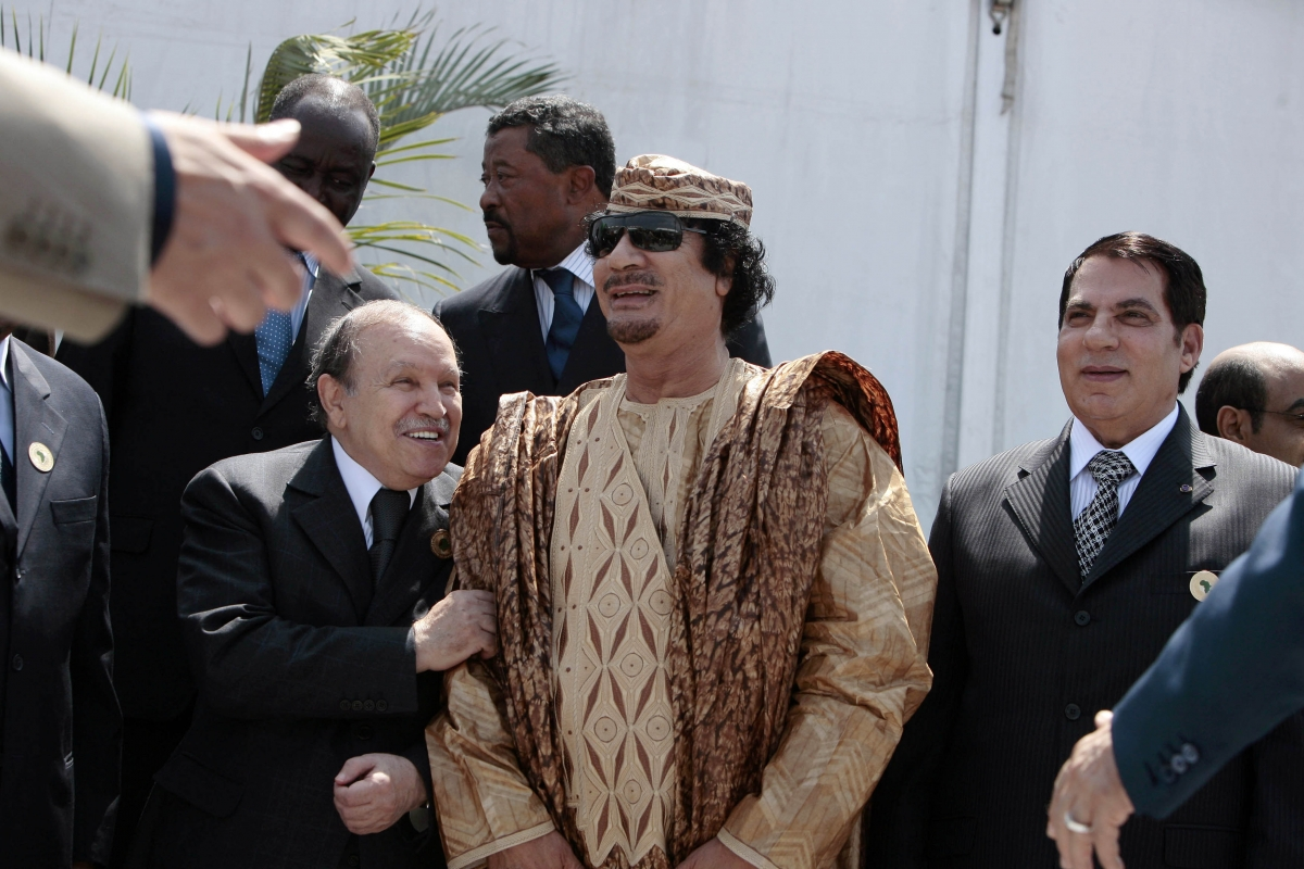 Gaddafi Ben Ali Bouteflika
