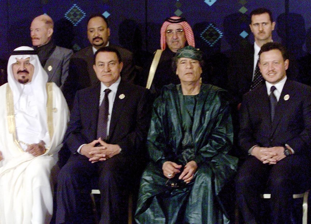 Arab Spring Rulers