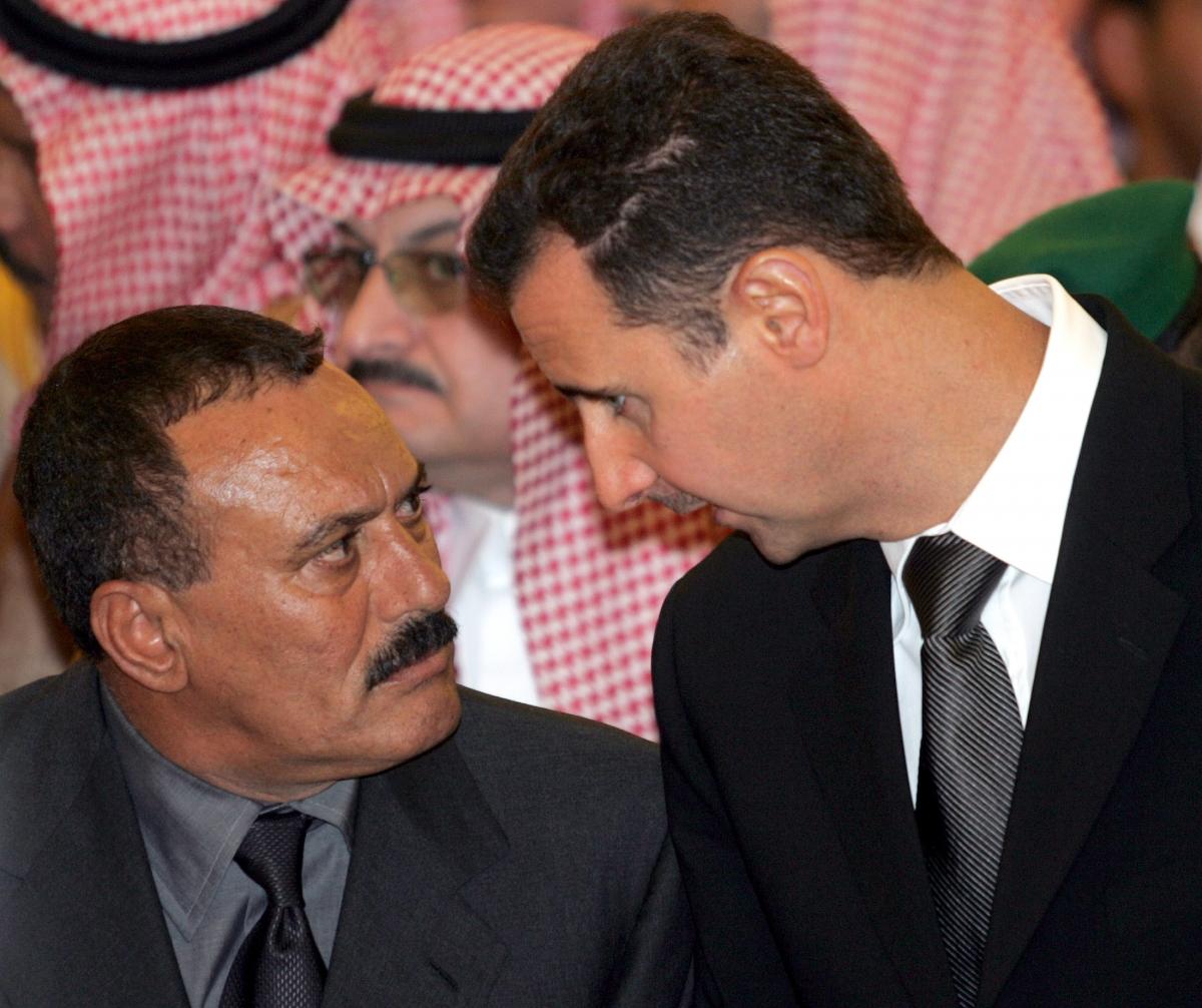 Bashar al-Assad Ali Abdullah Saleh
