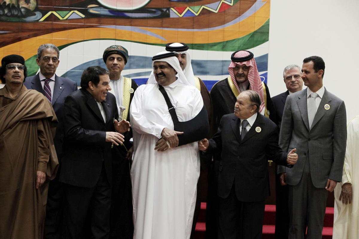 Muammar Gaddafi Assad Ben Ali
