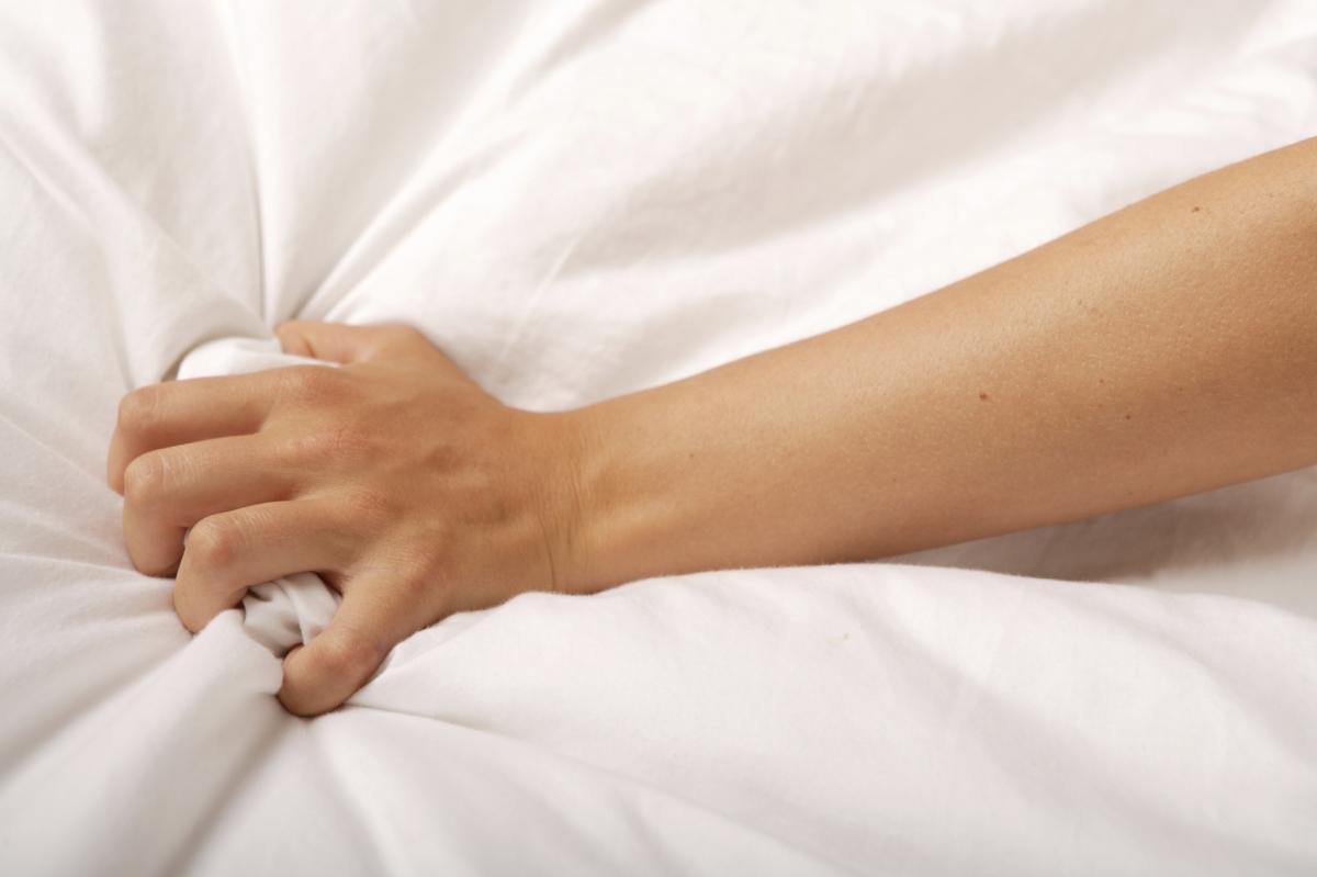 Grabbing the sheets