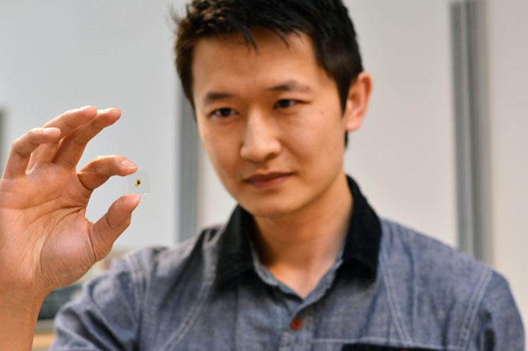 Smart windows: UBC prof Kenneth Chau