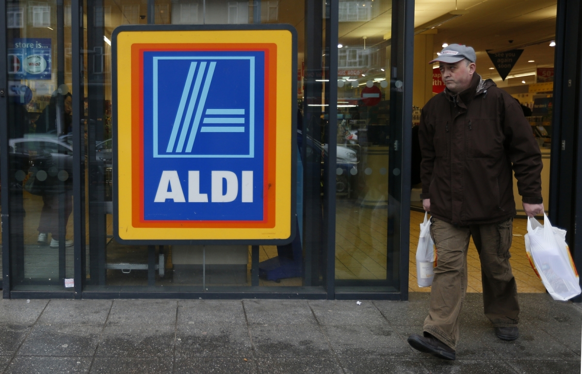 Aldi was among the winner at Easter
