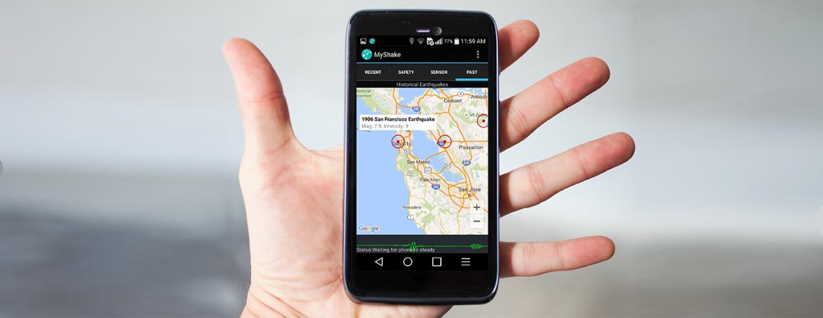 MyShake: Google Play's newest earthquake sensing app