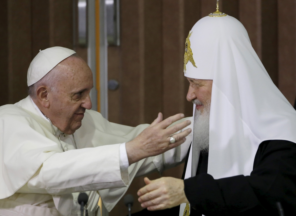 Pope Francis & Patriarch Kirill