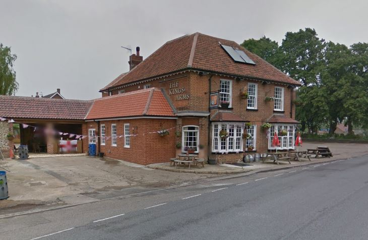 The King's Arms pub, Norfolk