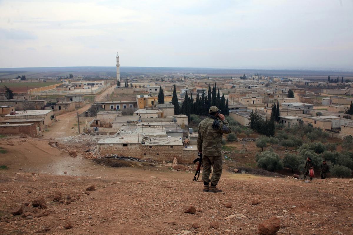 Aleppo regime offensive