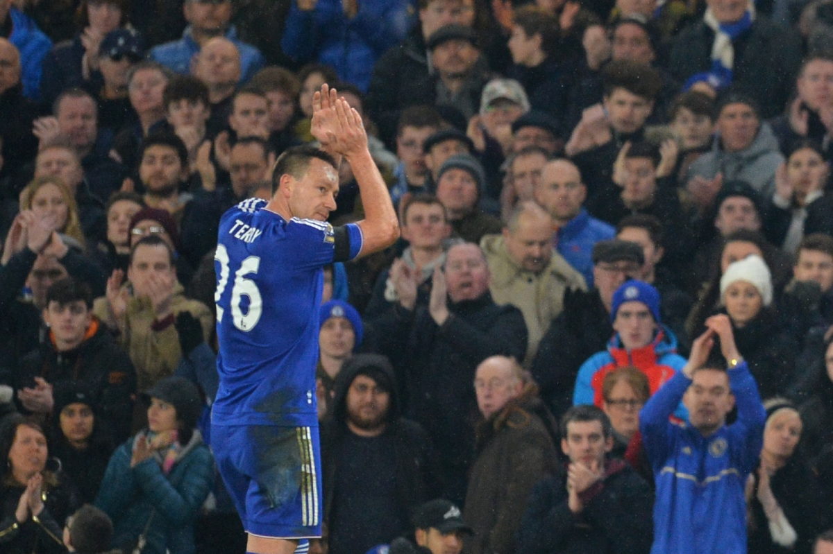 John Terry walks off