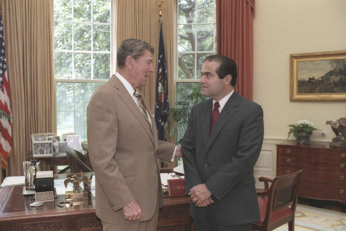 Ronald Reagan, Antonin Scalia