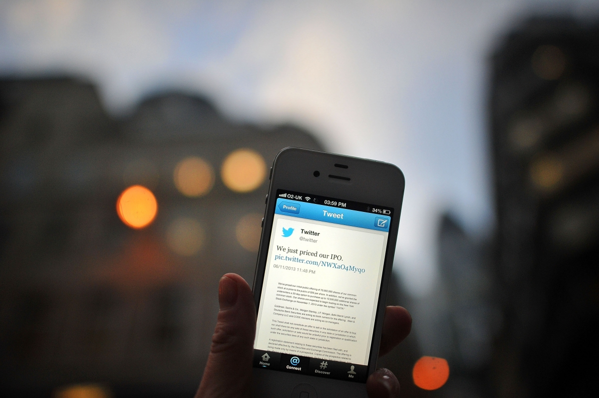 Twitter push notification on Android mobile