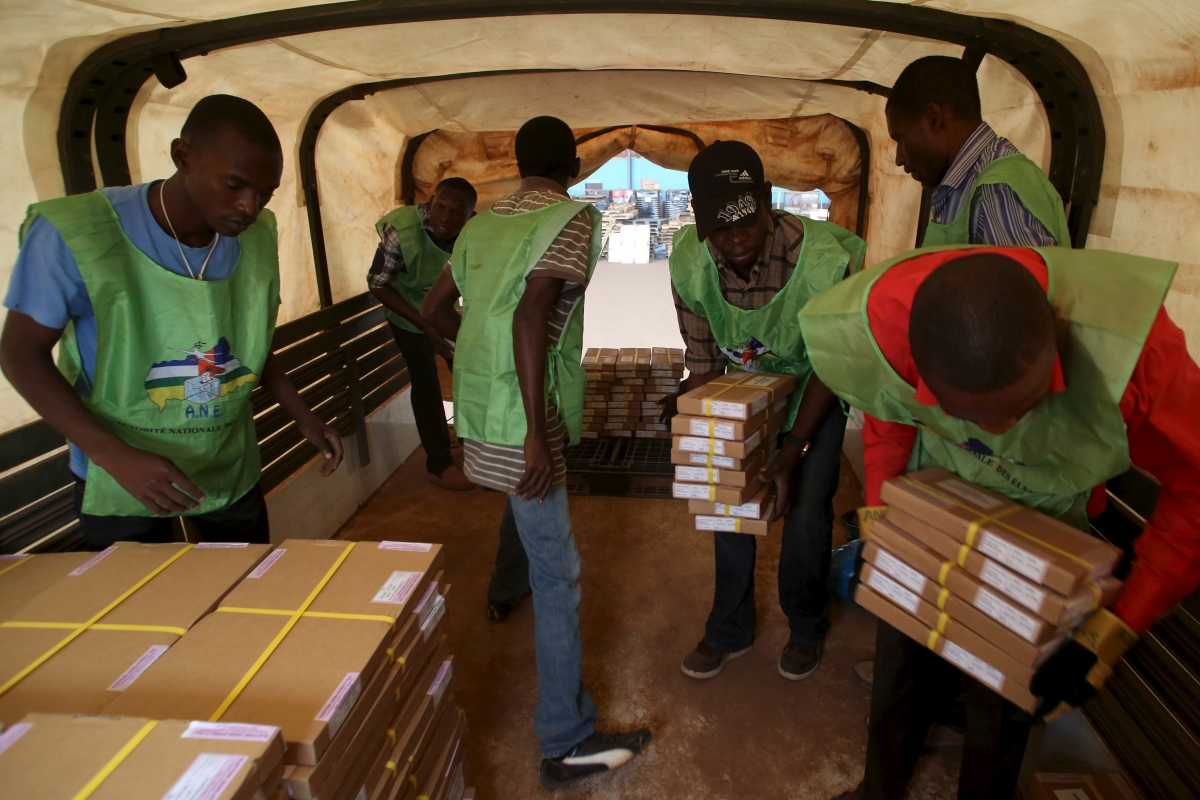 Central African Republic presidential elections