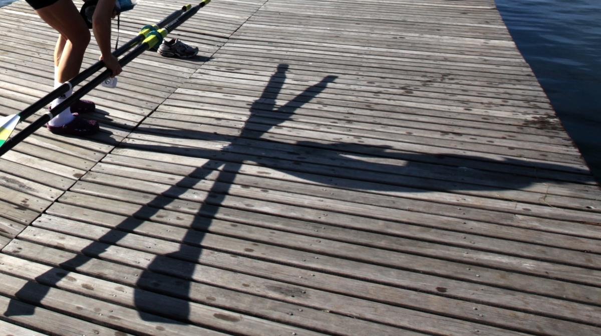 Ocean rowing oars