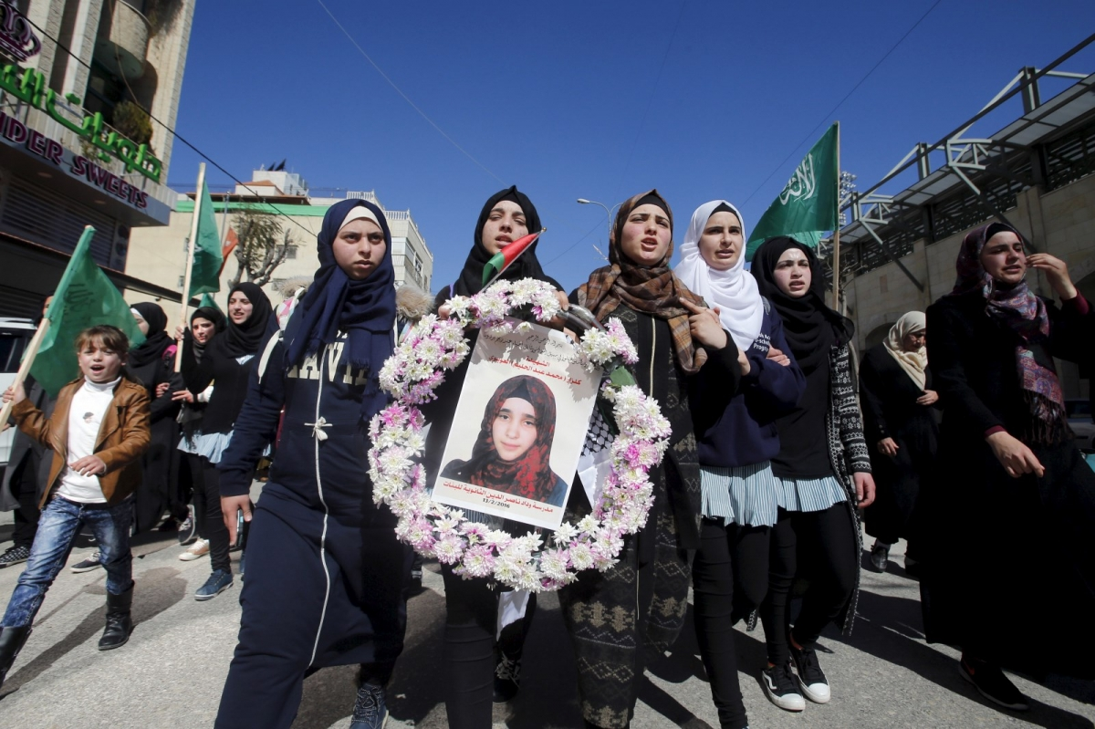 Kilzar Owaiwi funeral Hebron