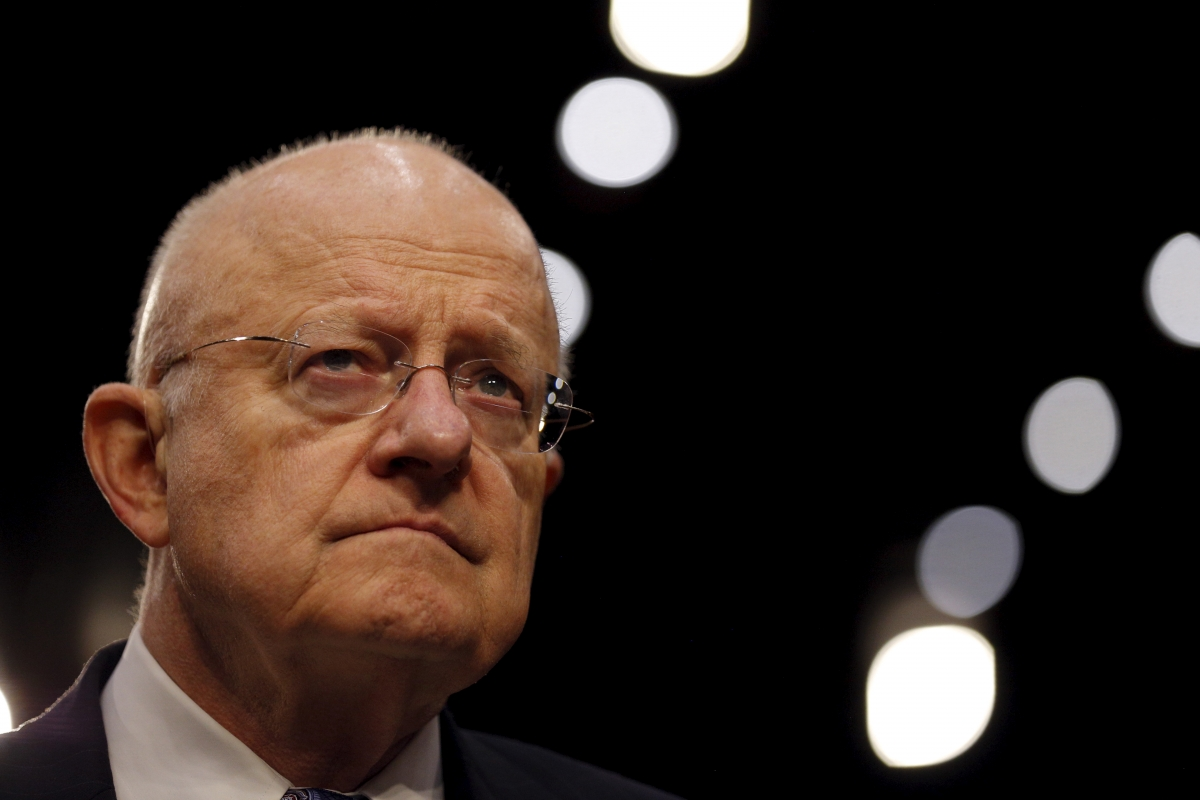 US Director of National Security James Clapper