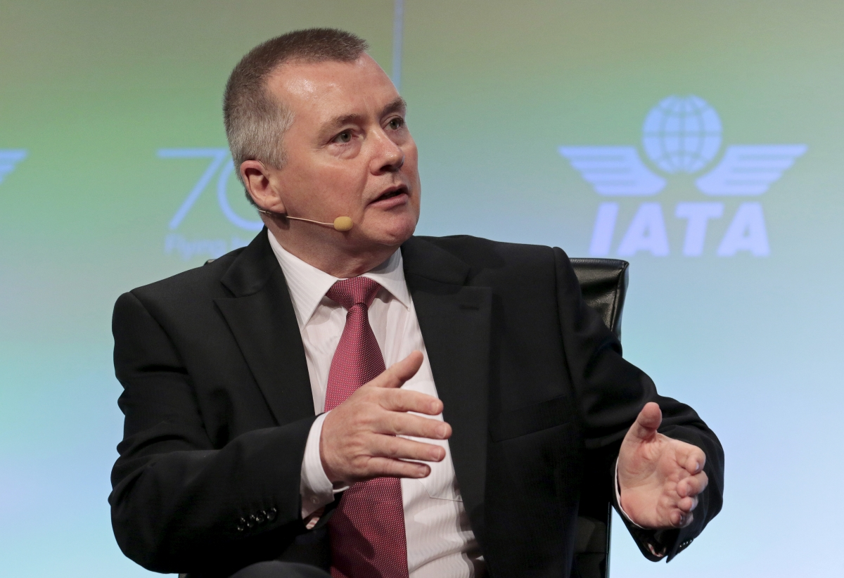 IAG CEO Willie Walsh calls on governments and carriers to reduce carbon dioxide emissions