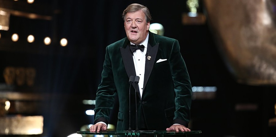 Stephen Fry at the Baftas 2016