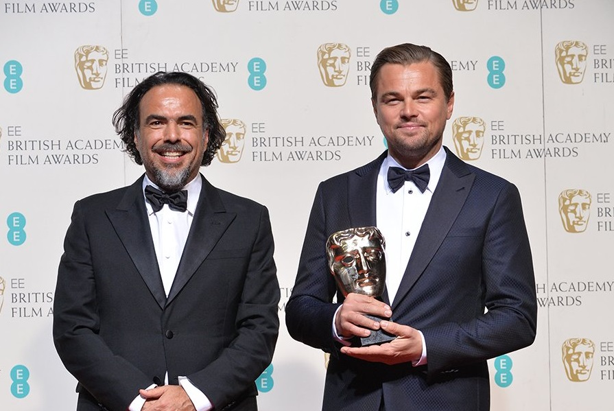 Leonardo DiCaprio and Alejandro G. Inarritu