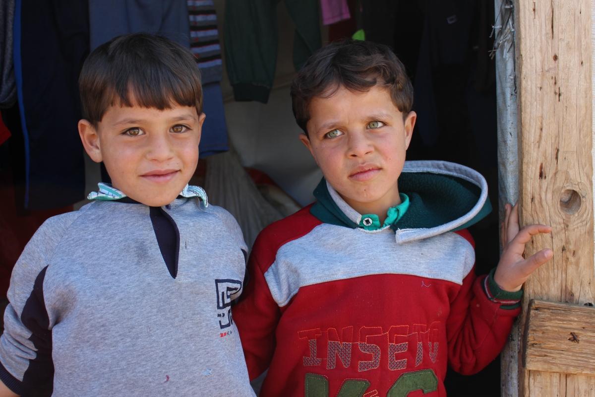 Hamza and Seraj