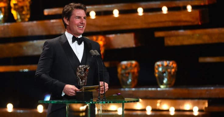 Tom Cruise at the Baftas 2016