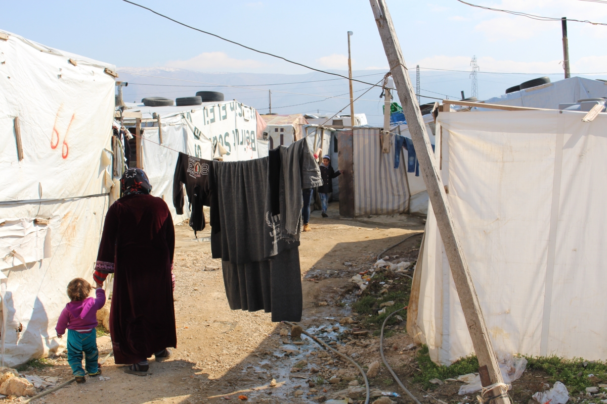 Syrian refugee settlement