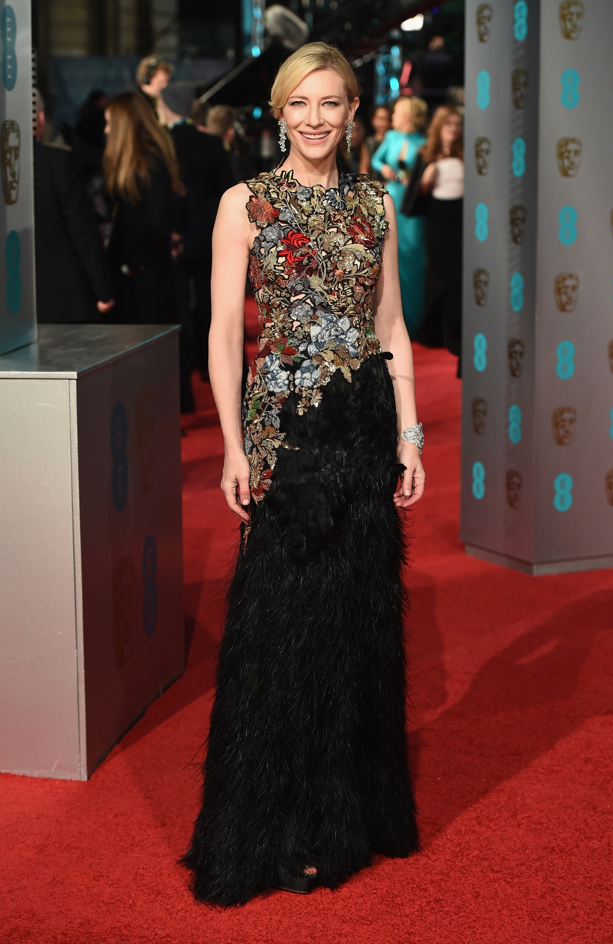 Baftas 2016 Best Dressed Red Carpet Stars From Cate