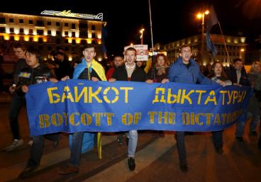 Belarus election protest