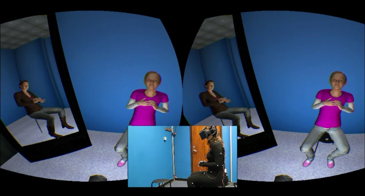 Virtual therapy study by UCL