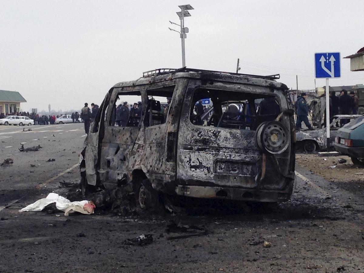 Dagestan car bomb Islamic State