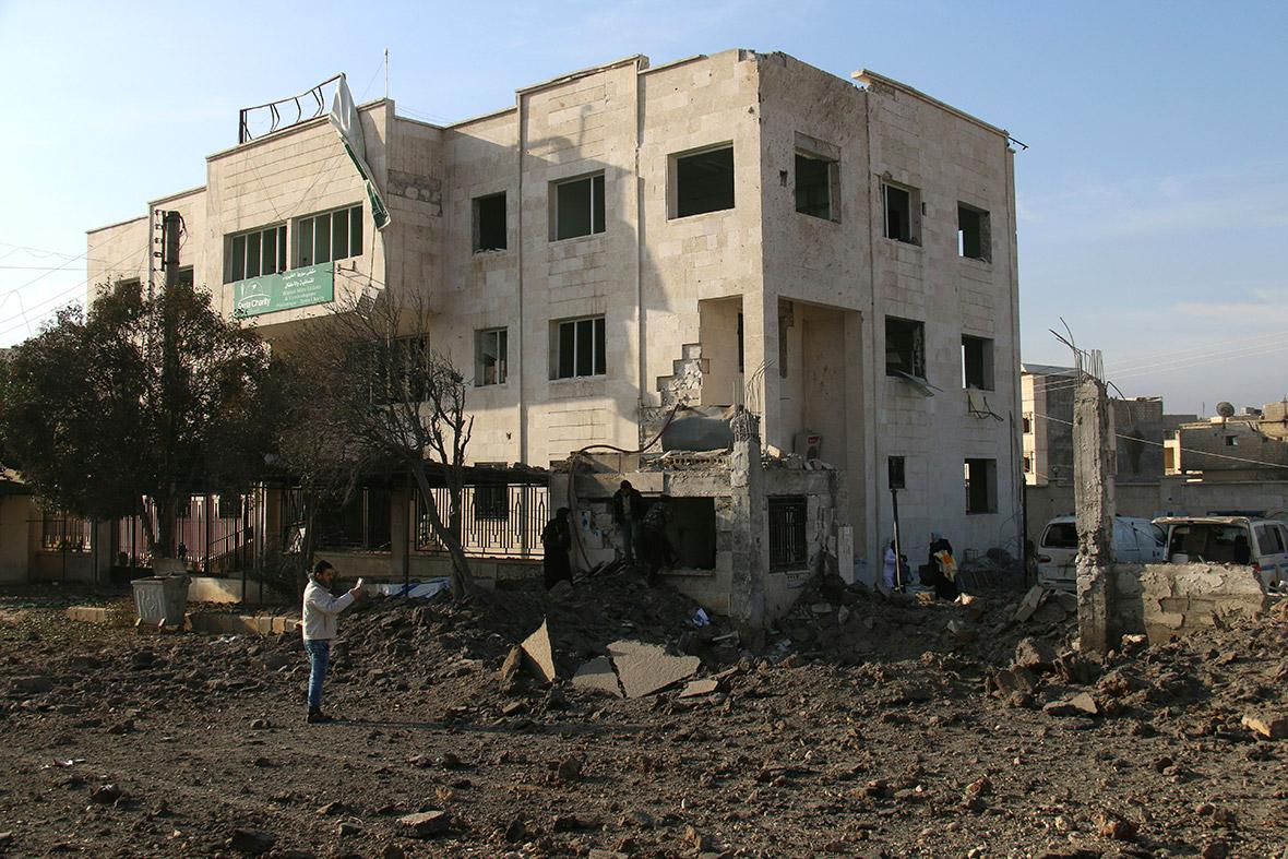 Azaz hospital Syria