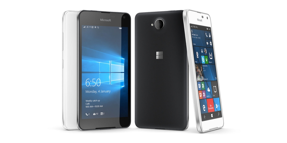 Microsoft Lumia 650 with Windows 10