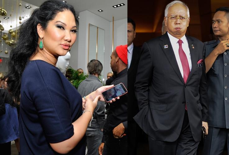 Kimora Lee Simmons and Najib Razak