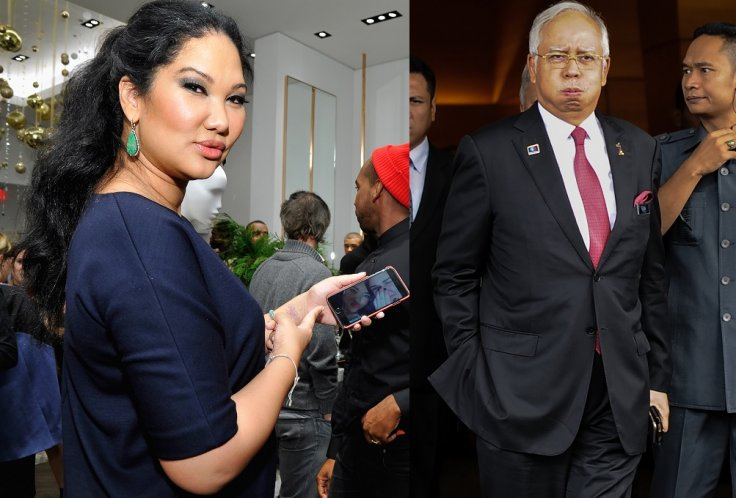 Kimora Lee Simmons and Najib Razak