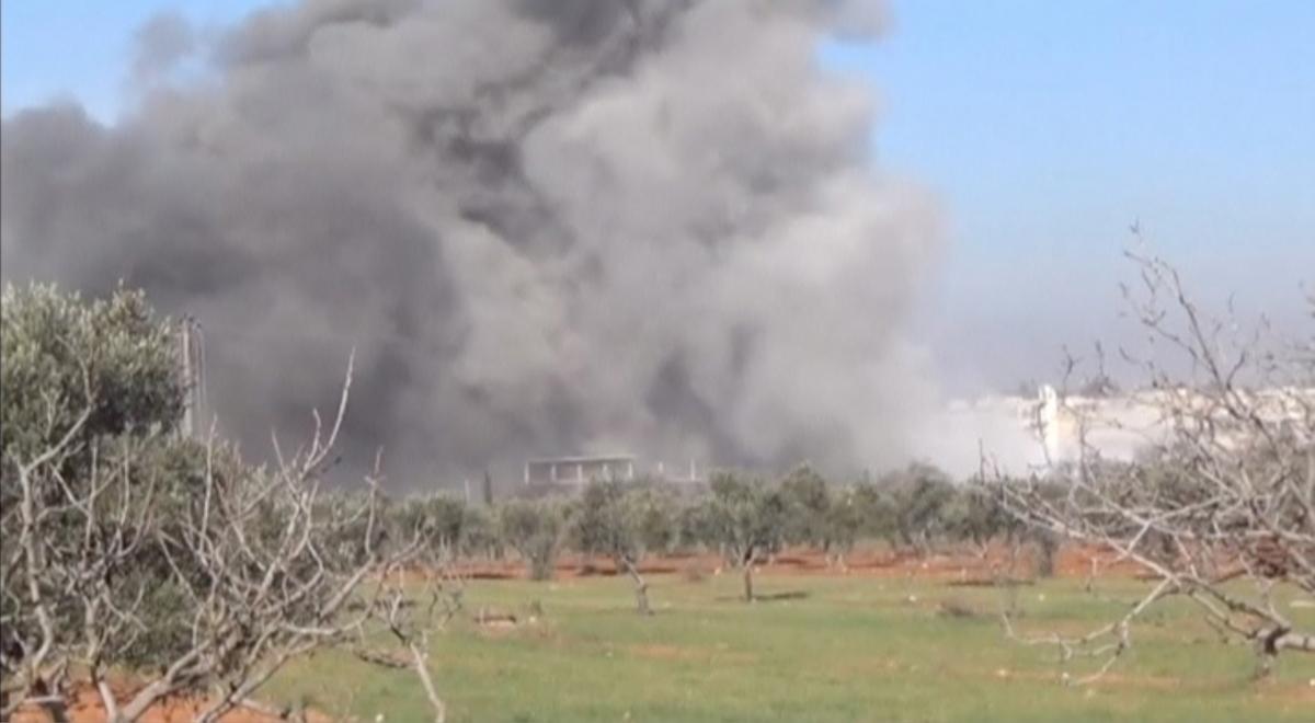 MSF hospital bombed Syria