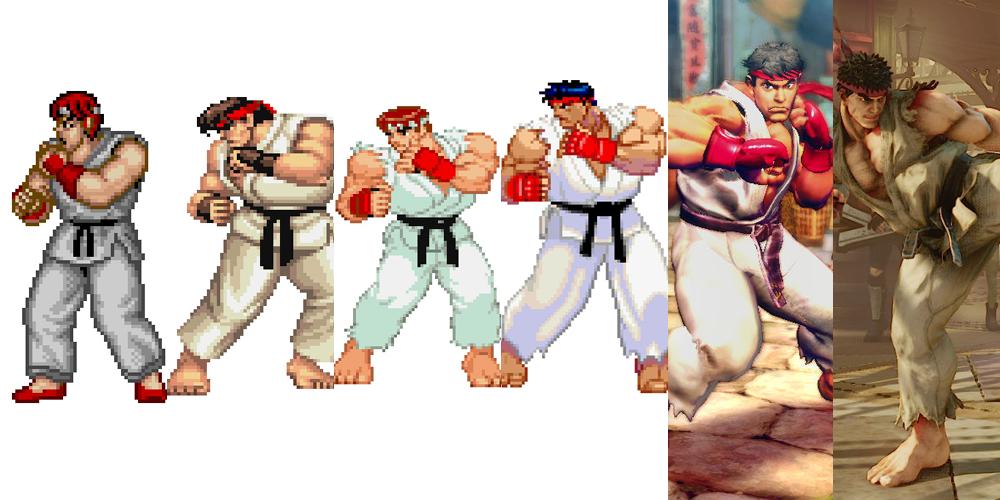 street fighter v ryu png