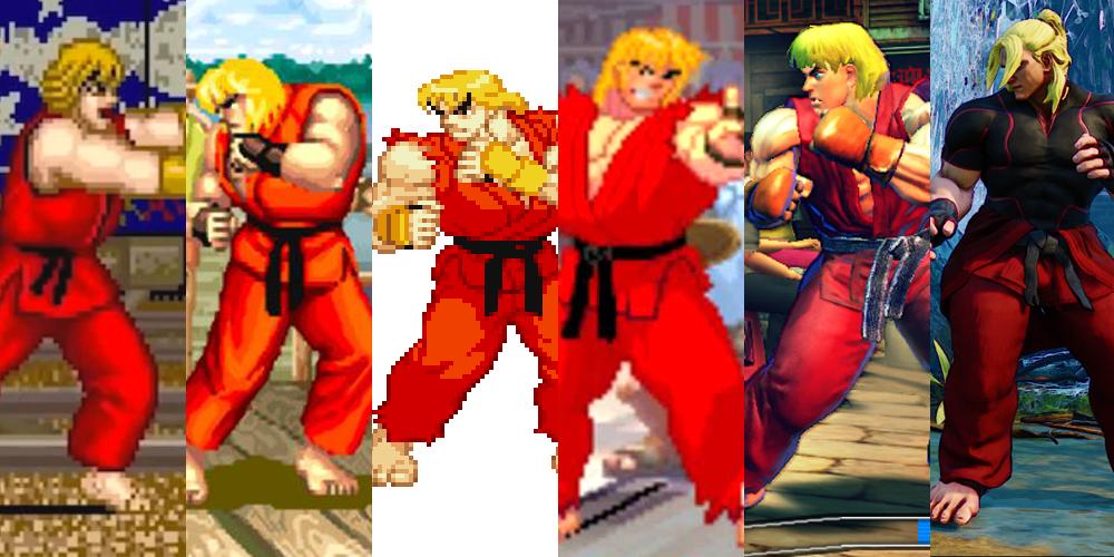 Street Fighter 5 Street Fighter V Ken