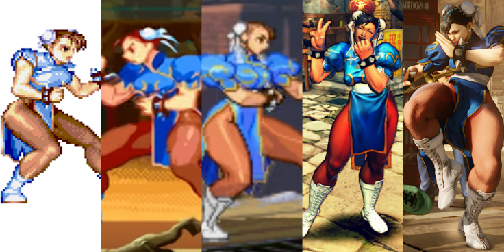 Street Fighter 5 Ryu Ken Chun Li And Other Iconic