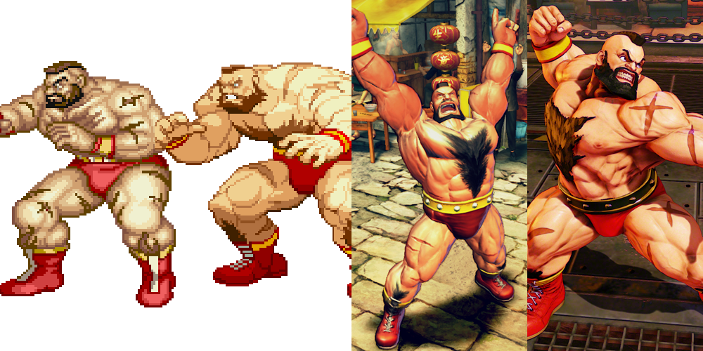 Street Fighter 5 Street Fighter V Zangief