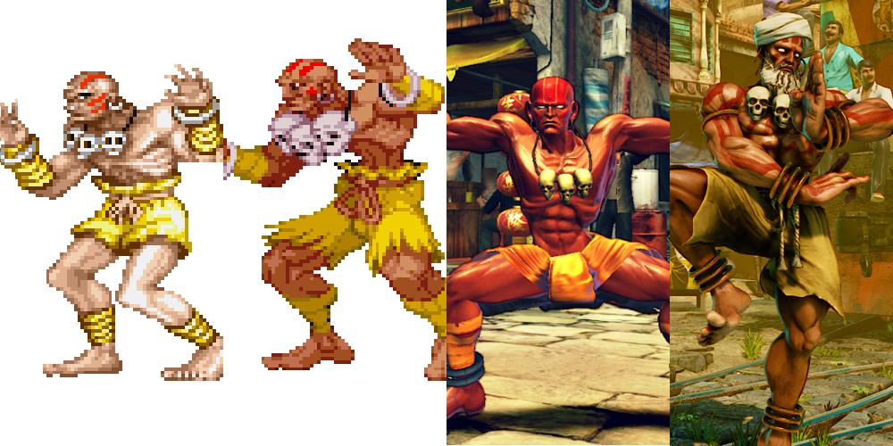 Street Fighter 5 Street Fighter V Dhalsim