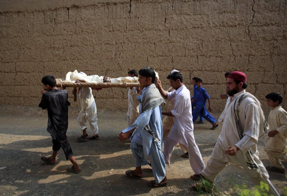 Pakistan Mosque Bomb Blast